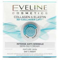 Eveline crema fata 50ml 3D Anti-Rid Collagen Elastin
