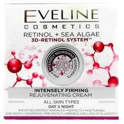 Eveline crema fata 50ml 3D Retinol Intensly Sea Algae