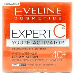 Eveline crema fata Serum 50ml Expert C Anti-Rid 40+