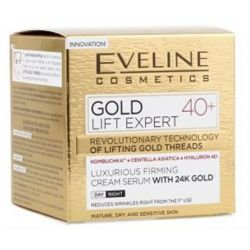 Eveline crema fata 50ml Expert Gold Lift 40+