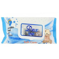 Dex servetele umede Soft Care 72buc
