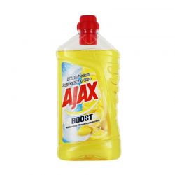 Detergent universal Ajax Boost Soda Lemon, 1 l