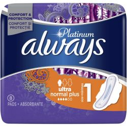 Always absorbante 8buc Platinum Ultra Normal Plus