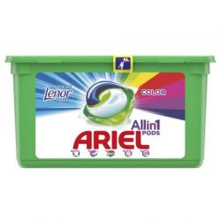 Ariel detergent capsule 39buc Pods Color, Touch of Lenor, 39 spalari
