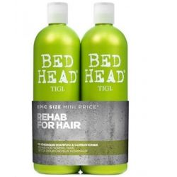 Set  Cadou Bed Head Tigi  Rehab Detox Sampon 750ml+Balsam 750ml