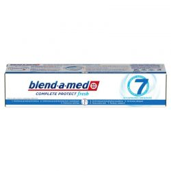 Blend-a-Med pasta de dinti 100ml 7 Complete Mouthwash Extra Fresh