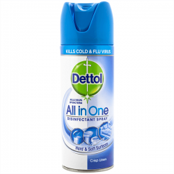 Dettol spray dezinfectant Crisp Linen, 400 ml