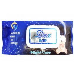 Dex servetele umede 72buc Night Care