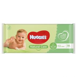 Huggies servetele umede Natural Care 56buc