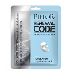 Pielor Renewal Code Collagen Boosting Masca de Fata Servetel, 25 ml