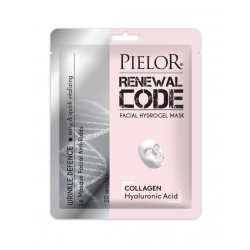 Pielor Renewal Code Wrinkle Defence Masca de Fata Servetel, 25 ml