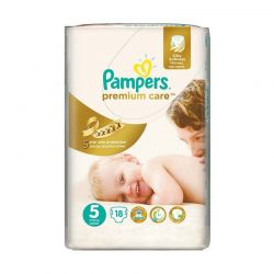 Pampers Premium Care Thick nr. 5, 11-18 kg, 56 buc