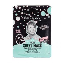 Petite Maison masca de fata Purifying Black Charcoal, 25ml