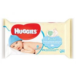 Huggies servetele umede Pure 56buc