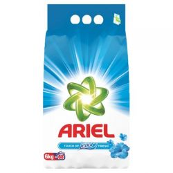 Ariel detergent rufe automat 6kg Touch Of Lenor, 60 spalari