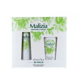 Malizia caseta cadou Green Tea (BS150ml+SG250ml)