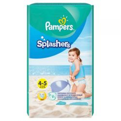 Pampers Splashers Swim Pants Nr.4-5 9-15kg, 11buc