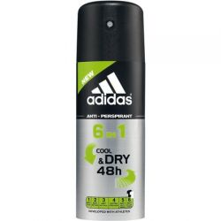 Adidas antiperspirant deo 150ml Cool&Dry 6in1