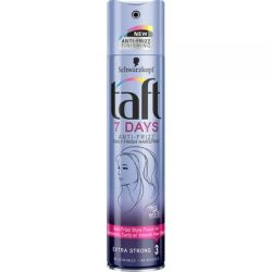 Taft Fixativ Par 250ml 7 Days Antifrizz Extra Strong 3