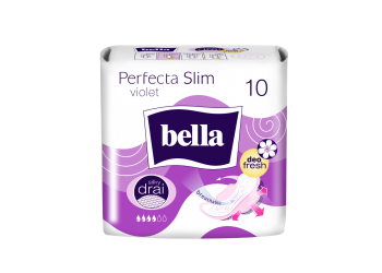 Bella absorbante Ultra Slim Violet 10 buc